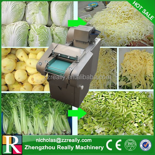 High efficiency 150-600kg/h electric commercial manual vegetable chopper