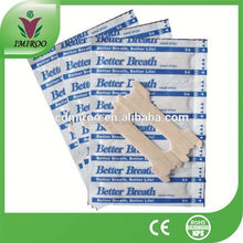 Health care products! Anti snore ,nose decongestion better breath nasal strips,nose plaster to breathe right