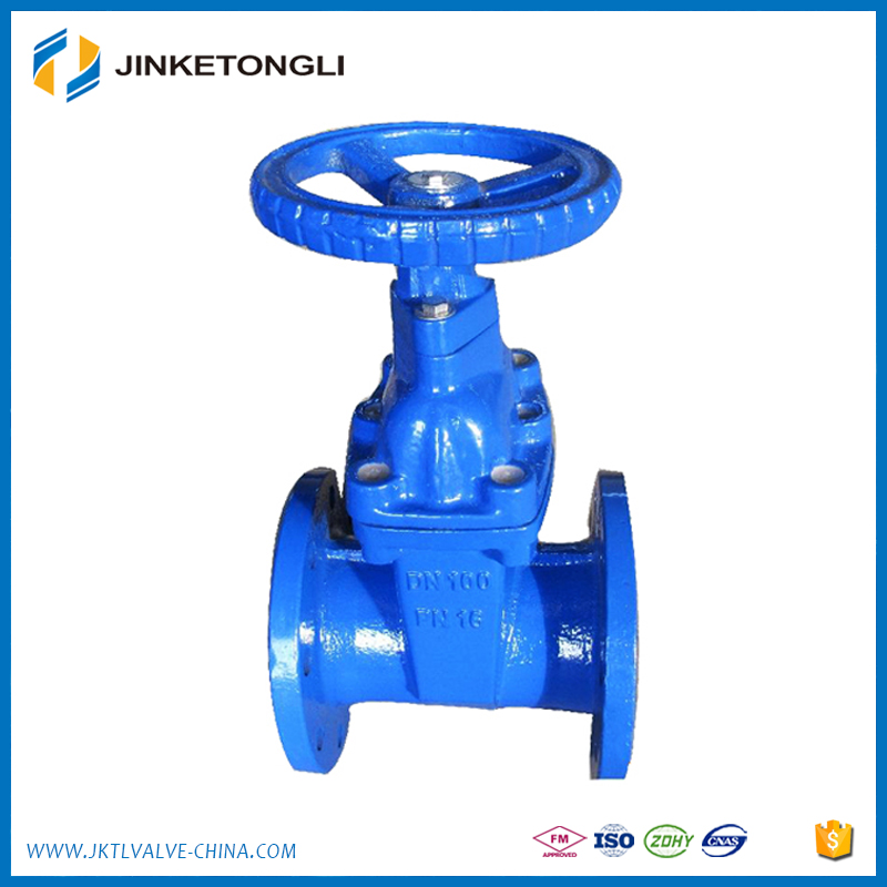 OEM Precision 4 Inch ductile iron/cast iron API Resilient Seated UL listed Gate Valve