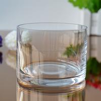Popular round bottom flower vase type glass