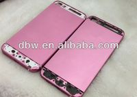 2013 NEW ARRIVE!for iphone 5 housing cover middle frame plated with 24k gold