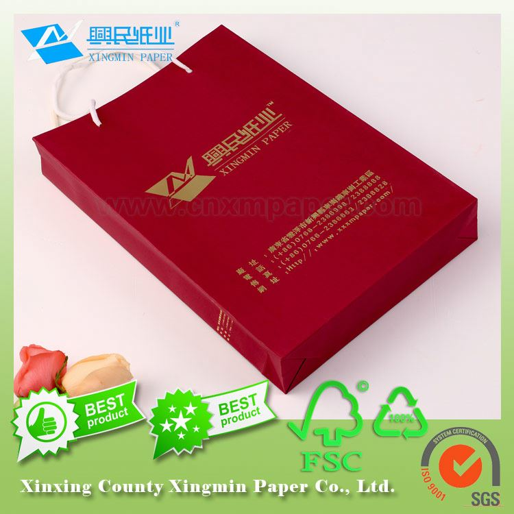 red card paper shoe box 128 gsm special red paper kraft paper board