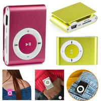 Amazon hot sale Clip USB Portable Sport running mp3 player car mp3 music player without sd memory card