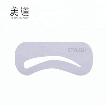 Wholesale Beauty Tools Silicone Eyebrow Stencils