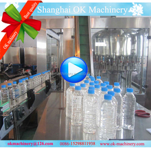 bottle water filling and sealing machine production line (pp)