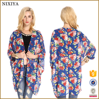 Flower print ladies tops ladies kurta tops