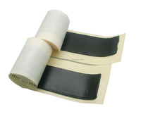Black butyl mastic tape