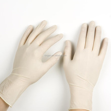 Cheap latex gloves powdered and powder free for hand care