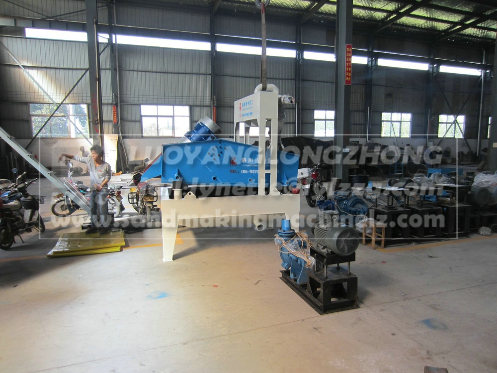 LZ300 natural sand recycling system working plant, nigeria sand washing machine plant