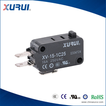 UL TUV CE approved pin plunger type 250v mini micro switch