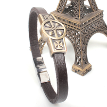 Hot Selling Fashion Leather Bangle Spanish Lord's Jewellery Men Women Unisex Health Bracelet