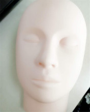 Rubber Practice Mannequin With Eyelash for Eyelash Extensions
