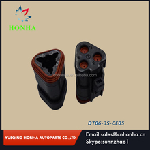 3 way Black female DT waterproof car connector DT06-3S-CE05