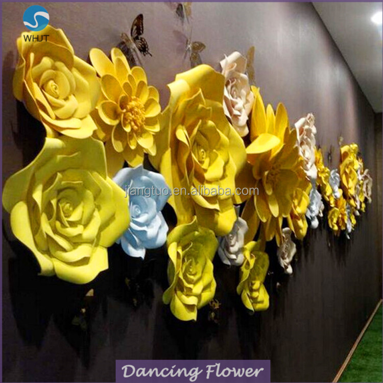 Popular style plastic artificial christmas flower single stem