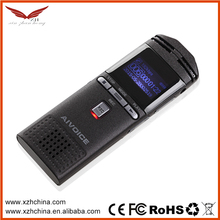 Newest 192kbps free voice audio recorder /sound recorder online with VOR function and built-in 8GB memory card