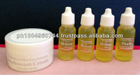 4 Yellow Peeling Oil Body Spot Remover with 1 Hydrocort cream 10g each