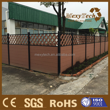 lattice fence designs plastic composite wpc privacy fence.