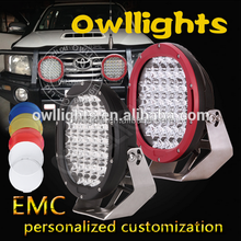 car extra Light Top quality Waterproof 12v IP68 9inch 185Watt Round LED motorcycle headlight Led driving light for 4x4
