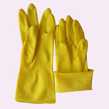 65g (thickening eleusine indica)industrial acid and alkali resistance, latex wholesale labor protection gloves