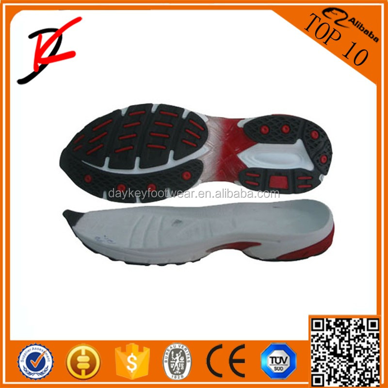 Wholesale Latest Design India light weight cheap sports shoe sole 2016