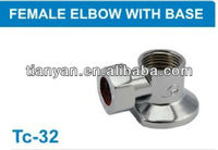 PEX PIPE FITTING FEMALE ELBOW WITH BASE 2