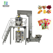 Dried Fruits Bag Sealing Packing Machine Multi-head weighing Scale