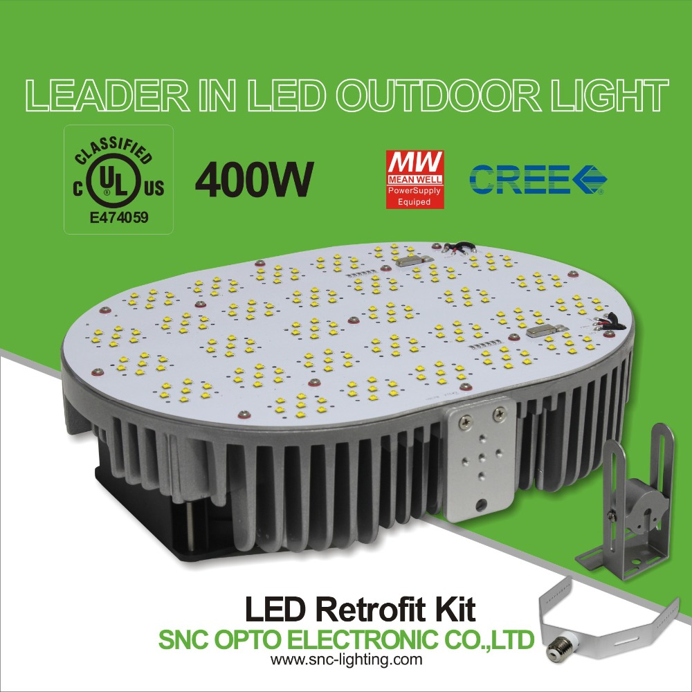 UL led retrofit kit 400w replace 1000w MH lights from Shenzhen SNC
