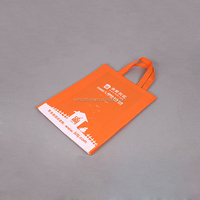 China supplier plastic non-woven bag by pictures printing for recycle shopping