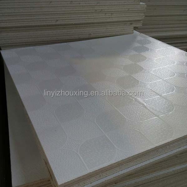 Vinyl Covered Drywall : Lightweight vinyl coated gypsum ceiling tiles buy