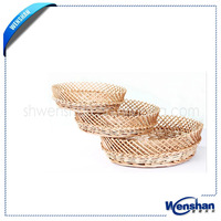 cheap round wicker tray wicker food basket