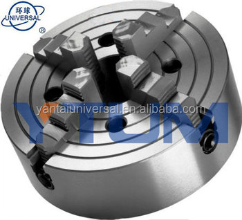 Self-centering 4-jaw Chuck K72 series