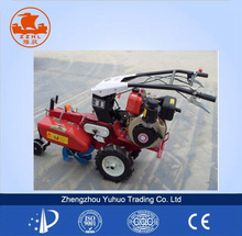 onion weeding usage hand operated rotary manual cultivator