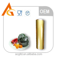 Plastic wrap moisture proof PVC cling film with great trasparency
