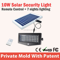 Wall Mounted Outdoor Solar Light System Led Light For Garden with remote controler