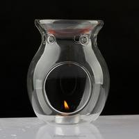 KTV wedding supplies Vycor glass aroma fragrance lamp scented oil burner Aroma Frnace Fragrance Lamps