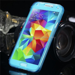 Crystal Clear Soft TPU Gel Cell Phone Case For Samsung Galaxy S5 SV I9600, For Samsung Galaxy S5 SV TPU Gel Case