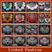 china wholesale colorful shourouk statement necklace jewelry design