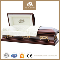Top Quality Funeral Metal Caskets China