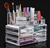 Custom printed makeup organizer acrylic cosmetic With Professional Technical