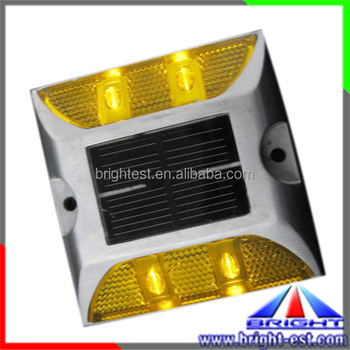 110(L)*95(W)Traffic safety cat eye road mix yellow white red blue high-capacity road stud aluminum highway road reflector