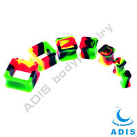 Fashion custom silicone ear plugs piercings