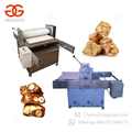 Semi Automatic Production Line Cereal Bar Cutting Peanut Candy Making Machines Granola Energy Bar Machine