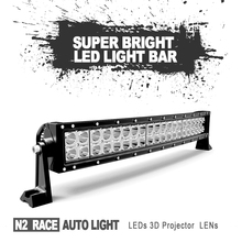 China Auto lights 12 volt led light bar 4x4 126 w crees led driving light for Jeep,trucks,auto parts