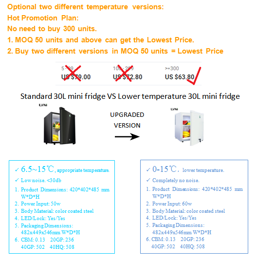 LVNI high performance-price ratio home bar 95L led light glass door mini bar fridge refrigerator cooler with compressor