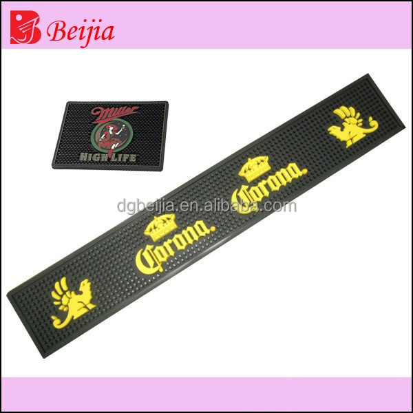 Beer Mat Customized Heat-transfer Printing Rubber Bar Mat