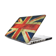 "Factory price 15.4"" inch England Flag image paste injection cover case for apple Macbook Air Pro Retina"