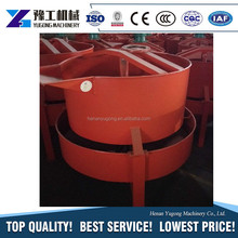 factory price 250L cement mixer with plastic drum double mix martor for sale