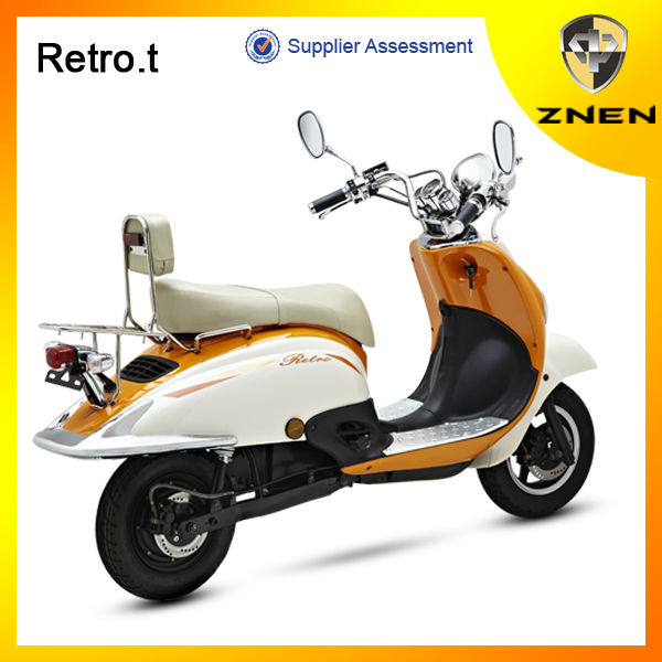 2017 best sale electric scooter with Removable Lithium battery--RETRO