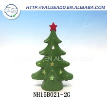 Hot sale porcelain xmas tree topper ornaments manufacturers in china