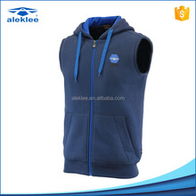 Cheap Fashion new models designer 65% Cotton 35% Polyester Materials Fleece Warm Sleeveless Vest sport men waistcoat for sale